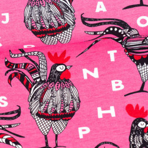 Rooster Pink Red Rooster Pinkki Punainen